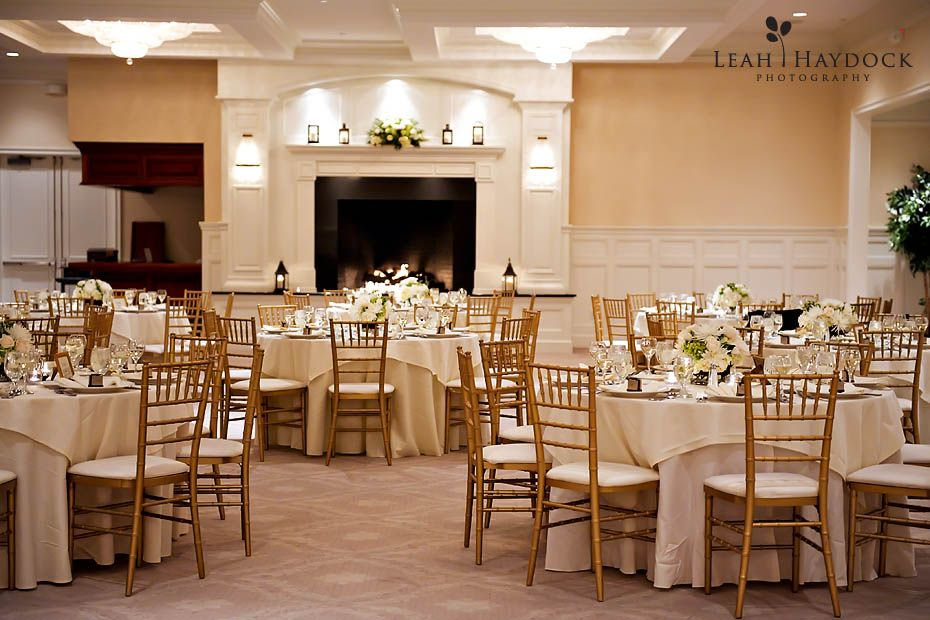 Indian Pond Is Such A Beautiful Wedding Venue It S Remarkably Close To Boston The Grand Ballroom Looked With Roaring Fire Gold Chiavari